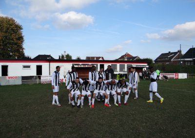 the complete team of the Red Star Juniors 1640 football club